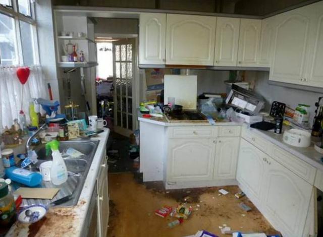 Imagen de la cocina de la casa adosada - Fuente: Metro