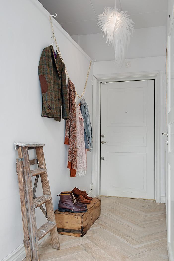 Entrada a piso sueco