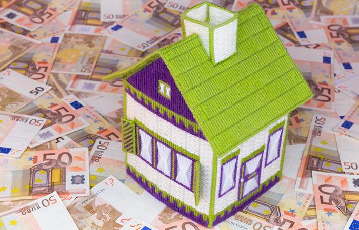 casa con euros