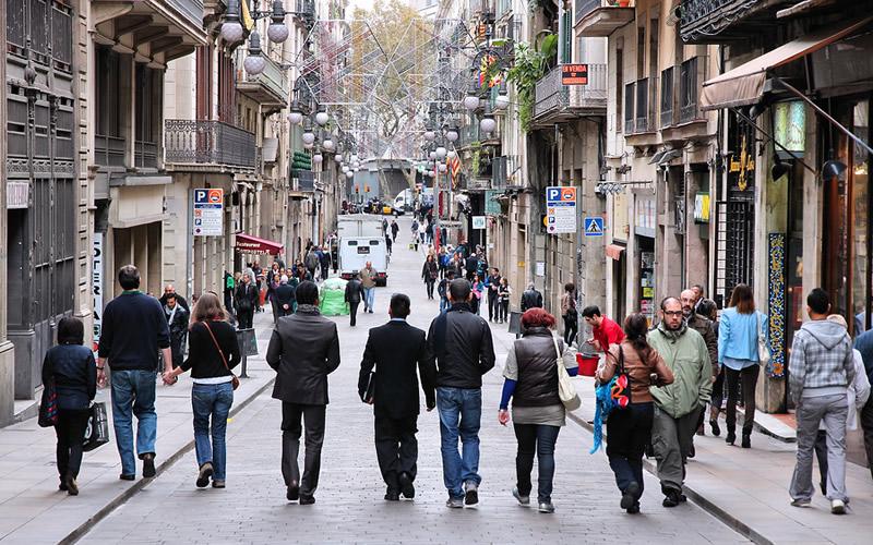Calle-Ferran-en-Barcelona