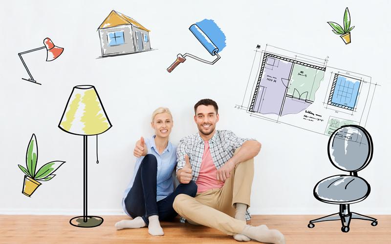 pareja con piso con hipoteca