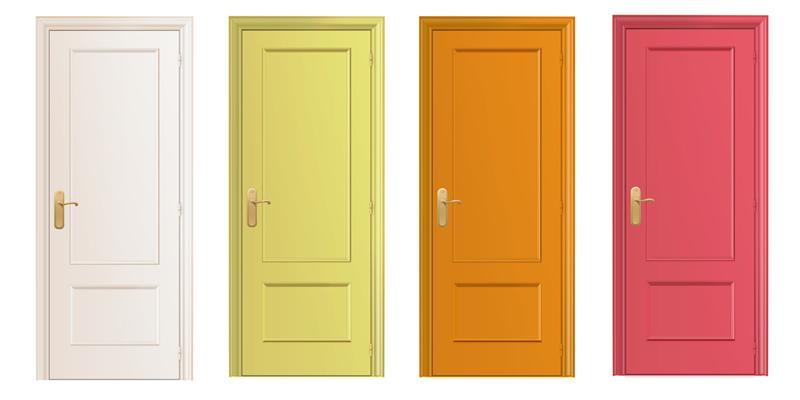 puertas de casa
